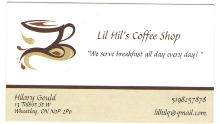Lil Hil's Coffee Shop
