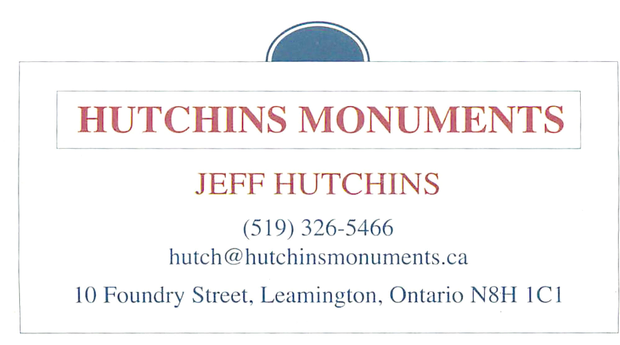 Hutchins Monuments